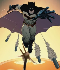 Batman costume, Batman #50, Greg Capullo