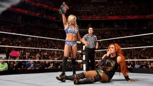 Charlotte, Becky Lynch, WWE Raw, March 28, 2016