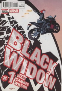 Black Widow #1, 2016, Chris Samnee