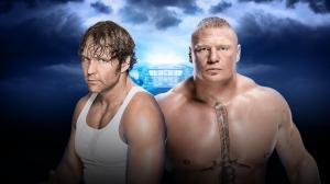 WWE Wrestlemania XXXII, Dean Ambrose, Brock Lesnar