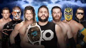 WWE Wrestlemania XXXII, Kevin Owens, Sami Zayn, Dolph Ziggler, Sin Cara, Zack Ryder, Stardust