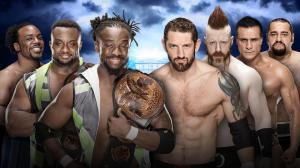 The New Day vs. The League of Nations, WWE Wrestlemania XXXII