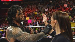 Roman Reigns, Stephanie McMahon, Raw, March 21, 2016