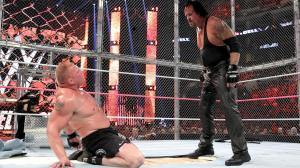 Brock Lesnar, Undertaker, WWE Hell in a Cell 2015