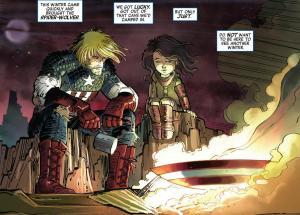 Captain America: Cast Away in Dimension Z