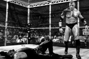 The Undertaker, Brock Lesnar, WWE No Mercy 2002