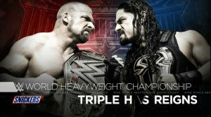 Triple H vs. Roman Reigns, Wrestlemania XXXII
