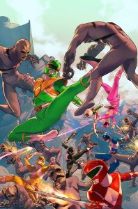 Mighty Morphin Power Rangers #1, 2016