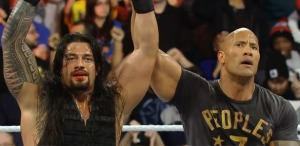 Roman Reigns, The Rock