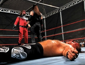WWF Bad Blood 1997, Undertaker, Kane, Shawn Michaels