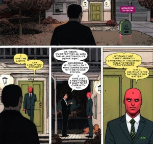 The Vision #5, Gabriel Hernandez Walta, cop entrance