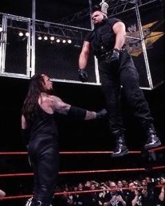 The Undertaker, the Big Bossman, Wrestlemania XV