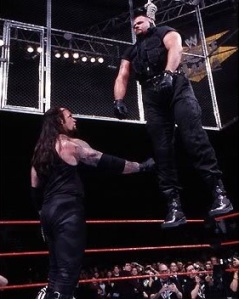 The Undertaker, the Big Bossman, Wrestlemania XV