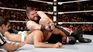 Kevin Owens, Cesaro, WWE Raw, April 11, 2016
