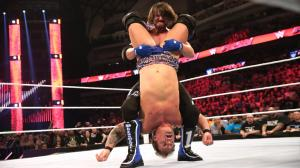 AJ Styles, Chris Jericho, WWE Raw, April 4, 2016