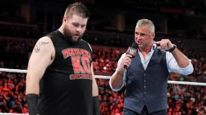Shane McMahon, Kevin Owens, WWE Raw, April 11, 2016