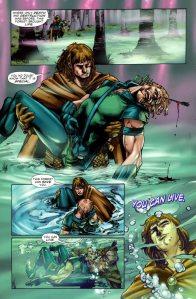 Green Arrow #3, Galahad, Diogenes Nieves, 2010
