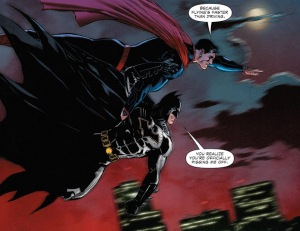 Batman/Superman #31 (2016), flying, Doug Mahnke