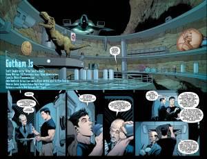 Batman #51, two-page spread, Greg Capullo