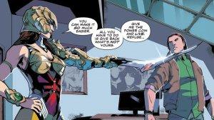Mighty Morphin Power Rangers #2, 2016, Hendry Prasetya