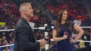Shane McMahon, Stephanie McMahon, WWE Raw, April 25, 2016