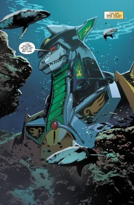Mighty Morphin Power Rangers #2, Hendry Prasetya, Dragonzord
