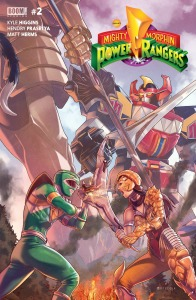 Mighty Morphin Power Rangers #2, cover
