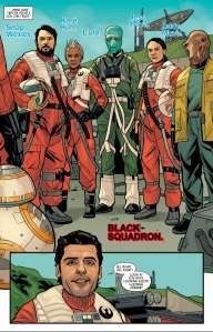 Star Wars: Poe Dameron #1, Black Squadron