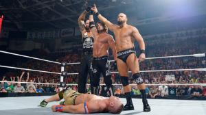 WWE Raw, May 30, 2016, John Cena, AJ Styles, Karl Anderson, Luke Gallows