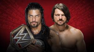 WWE Extreme Rules 2016, Roman Reigns, AJ Styles