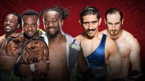 WWE Extreme Rules 2016, The New Day, The Vaudevillians