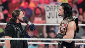 Roman Reigns, AJ Styles, WWE Raw, May 16, 2016
