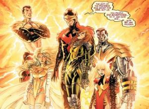 Avengers vs. X-Men, Phoenix Five