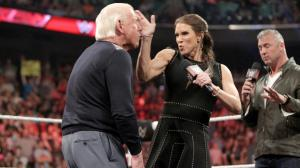 Stephanie McMahon, Ric Flair, WWE Raw, May 16, 2016