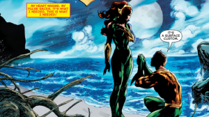 Aquaman and Mera proposal