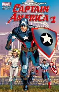 Captain America #1, 2016