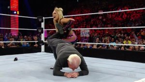 Natalya, Ric Flair, WWE Raw, May 2, 2016