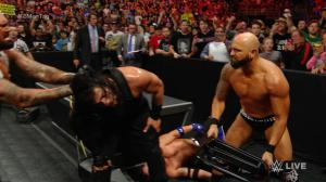WWE Raw, May 9, 2016, Roman Reigns, Karl Anderson