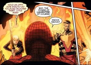 Avengers vs. X-Men, Spider-Man, Colossus, Magik