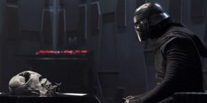 Kylo Ren, Darth Vader helmet