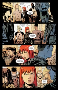 Black Widow #3, 2016, page 5, Chris Samnee