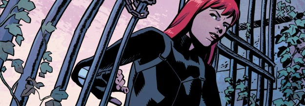 Black Widow #3, 2016, Chris Samnee, pose