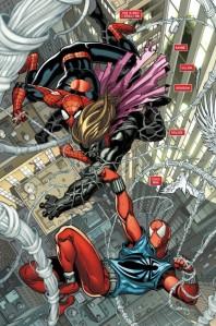 Scarlet Spider #1, 2012, Ryan Stegman, interior