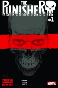 The Punisher #1, cover