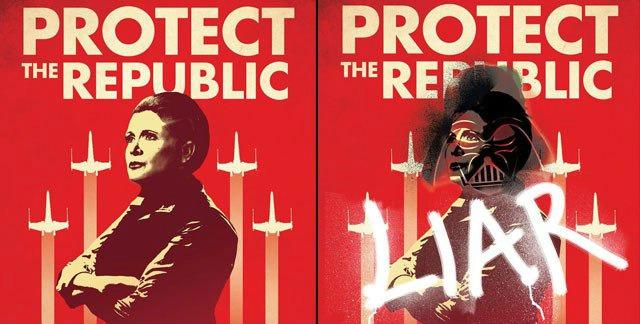 Star Wars: Bloodlines, posters