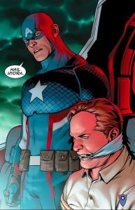 Steve Rogers- Captain America #1, Hail Hydra