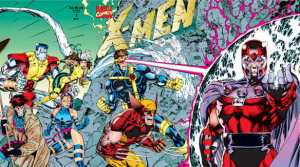 X-Men #1 (1991) cover, Jim Lee