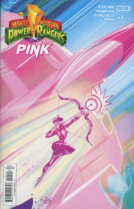 Mighty Morphin Power Rangers #1, Elsa Charretier, cover