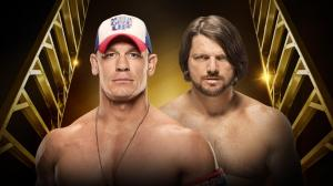 John Cena vs. AJ Styles, WWE Money in the Bank 2016