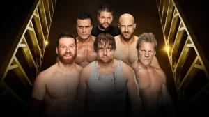 Money in the Bank Ladder Match 2016, Kevin Owens, Dean Ambrose, Sami Zayn, Alberto Del Rio, Cesaro, Chris Jericho